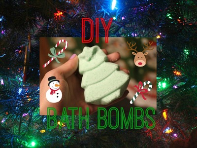 DIY Bath Bombs! LUSH Inspired. Great Inexpensive Holiday Gift Idea