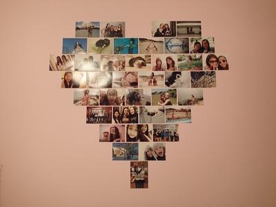 DIY: Heart Photo Collage (Macbarbie07 inspired) ♡ phoever88