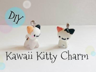 DIY Kawaii Kitty Charm tutorial