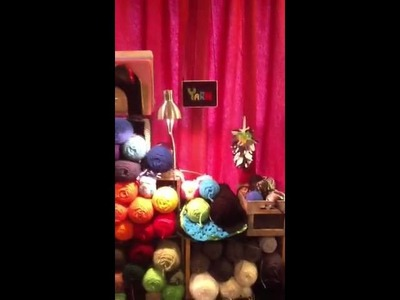 How I organize my yarn stash