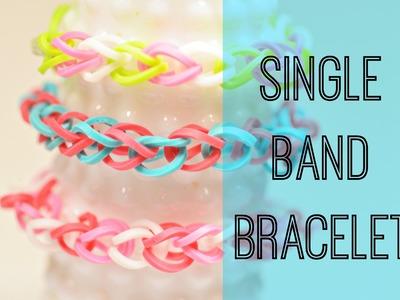 How to Make a Single Band Bracelet