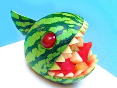 How to Make a Watermelon Piranha Bowl (HD)