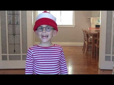How to make a Where's Wally dress up