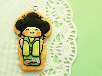 Kimono Girl Cookie Tutorial