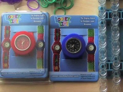 LOOMEY TIME RAINBOW LOOM WATCH GIVEAWAY #2