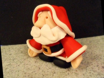 Meet Santa - Polymer Clay Done By Cibelle Sousa Hill