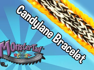 Monster Tail™ Candylane Bracelet by the maker of Rainbow Loom