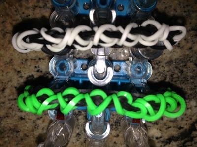 *NEW!* How to Make a Rainbow Loom Single X Bracelet!