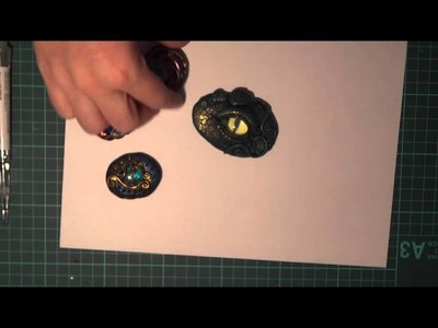 Polymer clay creations inspired by Chris Kapono
