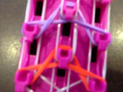 Rainbow Loom Bow Tie Bracelete