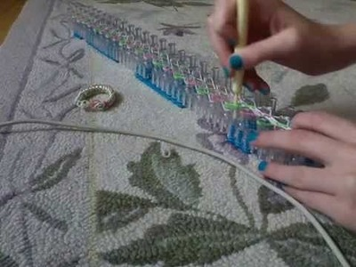 Rainbow loom this braclette is sick please look
