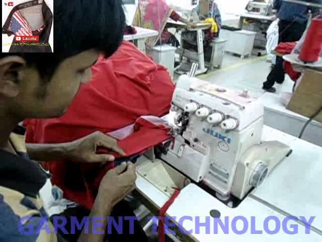 Sewing Technique: how to join a collar on a T shirt or polo Shirt or any kind of garment