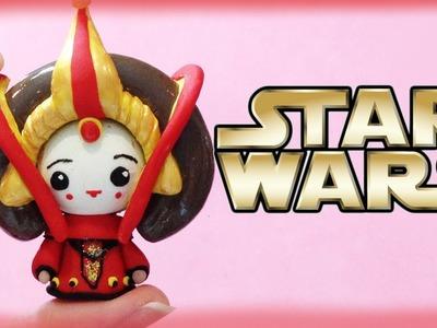 Star Wars Princess Queen Amidala Chibi Clay Tutorial