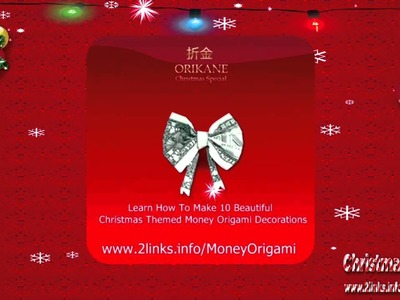 10 beautiful and easy to learn Christmas Origami ornaments and decorations
