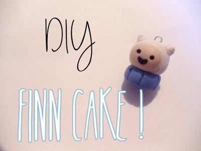 Adventure Time Finn Cake Tutorial [Polymer Clay ^_^]