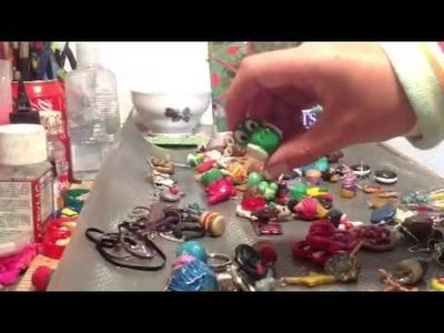 All my polymer clay creations - PART 1- (hunger games, mari