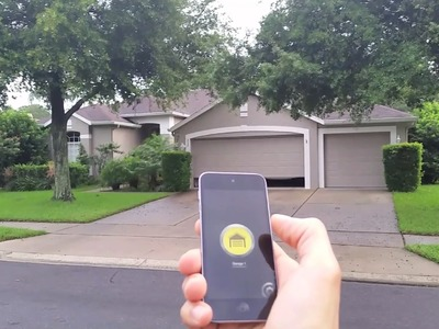 DIY Bluetooth 4.0 iPhone and Android Garage Door Opener. Universal Remote