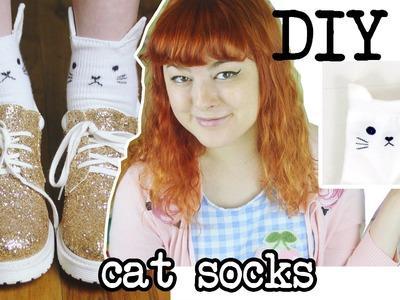 DIY Cat Socks | Make, Thrift, Buy #20