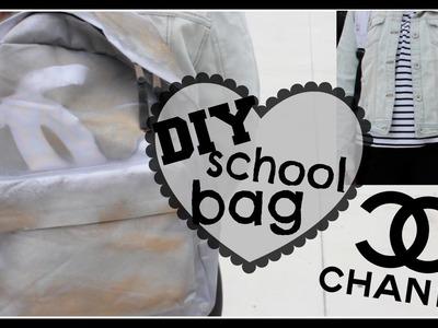 DIY Chanel School Bag + How To Style | Kenzie Elizabeth