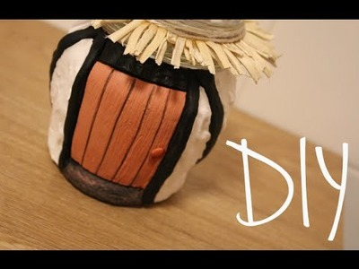 DIY: Tudor Cottage Jar