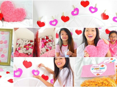 DIY Valentine's Day Party: Easy Treats, Gifts, & Decor!!