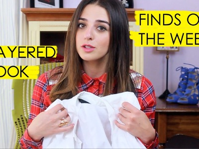 FINDS OF THE WEEK: HOW TO LAYER TOPS, SPRING & SUMMER CLOTHES, HAUL VIDEO