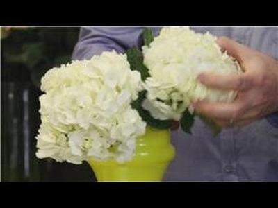 Flower Arrangements : Yellow & White Flower Arrangements