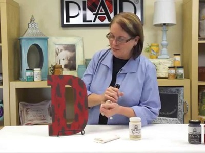 FolkArt Home Decor Chalk: Create a Chippy Layered Paint Finish With Donna Dewberry