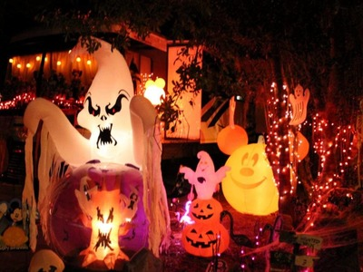 Halloween Decorations at Fort Wildnerness Campground