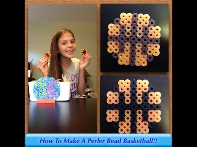 How To Make A Perler Bead Basketball