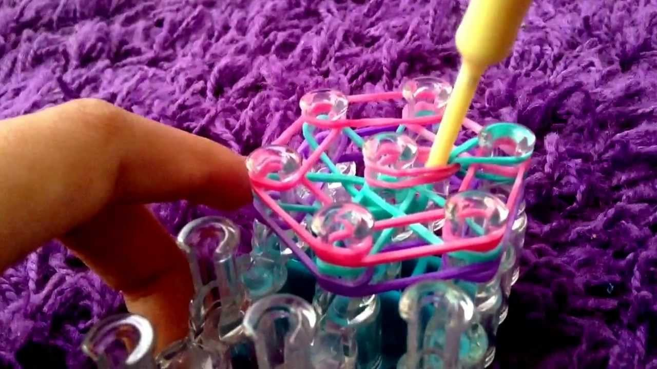 How to make a rainbow loom charm!