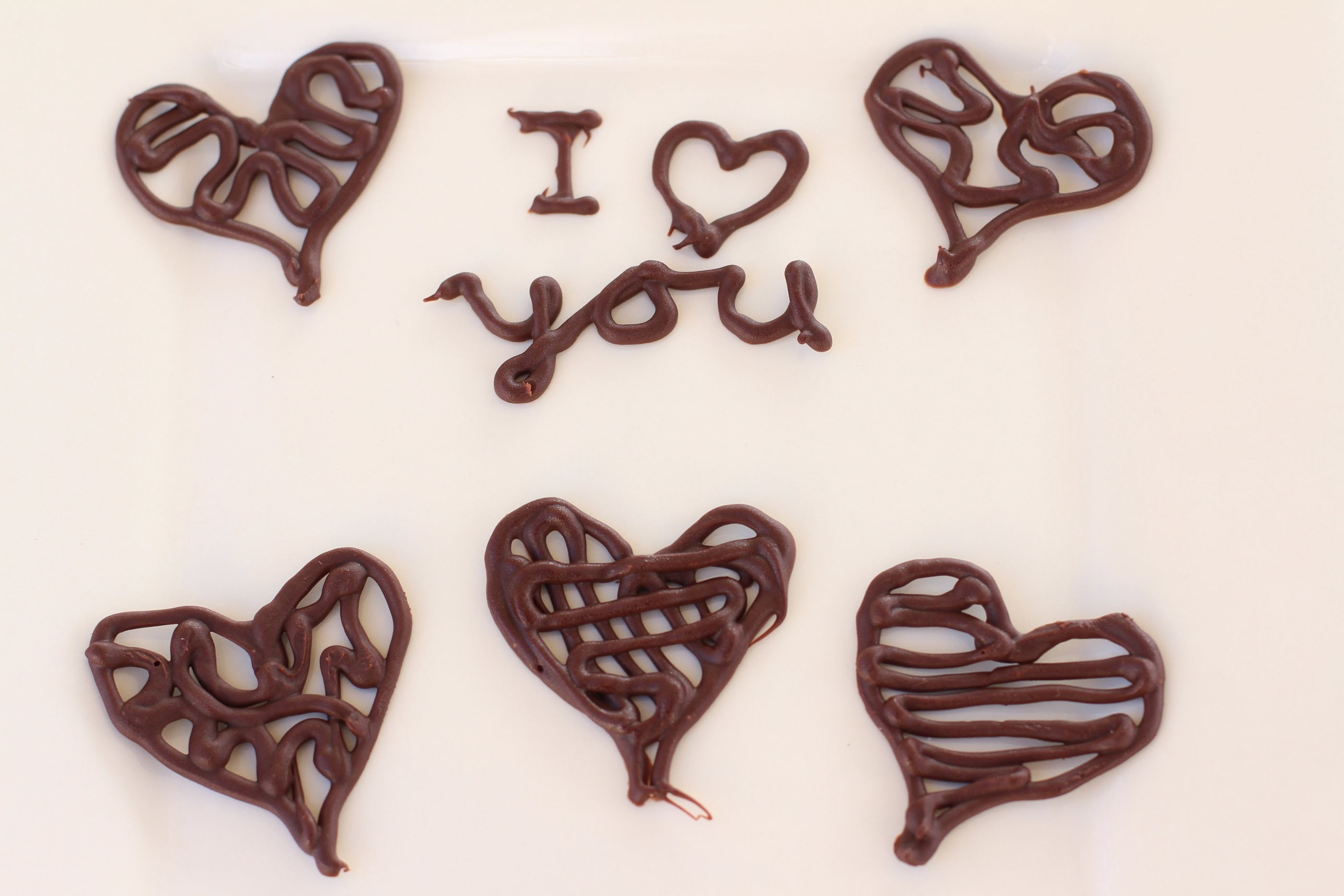 How To Make Chocolate Heart Decorations by Rockin Robin