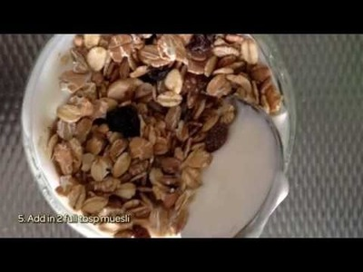 How To Prepare A Healthy Overnight Muesli - DIY  Tutorial - Guidecentral