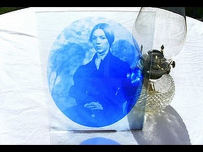 How to Print Cyanotype on Glass