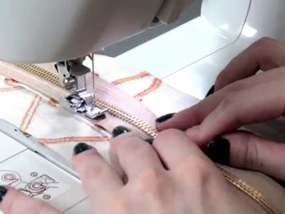 How to Sew an Upholstery Zipper