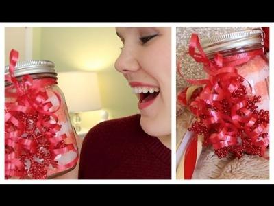 Last Minute Gift: DIY Candy Cane Bath Salts!