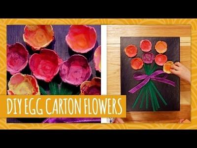 Mother's Day Egg Carton Flowers - HGTV Handmade