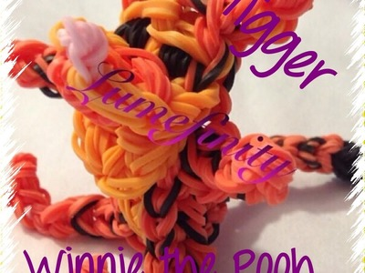 Rainbow Loom bands Tigger - Winnie the Pooh figure by Lumefinity - How to