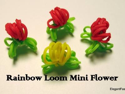 Rainbow Loom Mini Flowers - How to