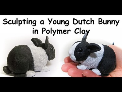 Sculpting a Young Dutch Bunny in Polymer Clay