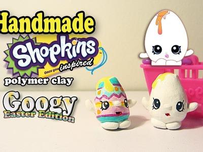 Season 1 Shopkins: How To Make Googy Polymer Clay Tutorial! (Easter Edition)