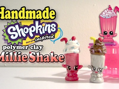 Season 1 Shopkins: How To Make Millie Shake Polymer Clay Tutorial!