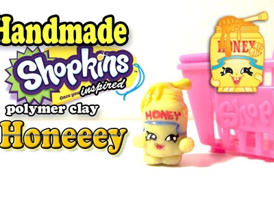 Season 2 Shopkins: How To Make Honeeey Polymer Clay Tutorial!
