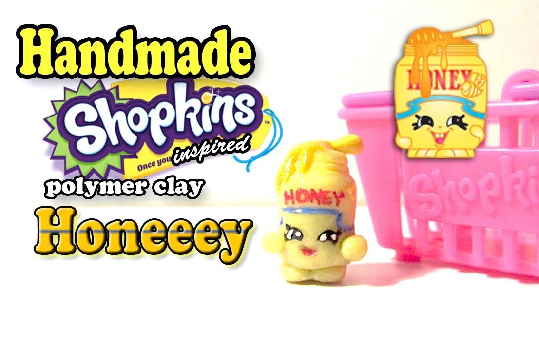 Season 2 Shopkins: How To Make Honeeey Polymer Clay Tutorial!