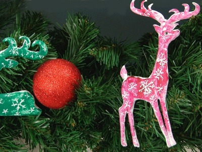 Art Lesson: How to make Christmas Tree Decorations by Mont Marte affordable Art Supplies
