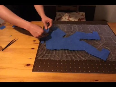 Beadsprite Tutorial: Taping and Transfer (part 2)