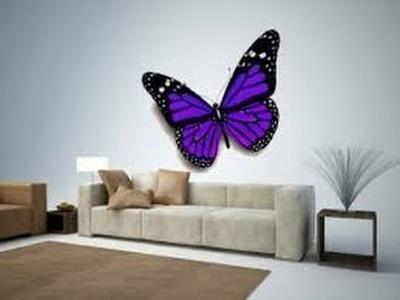 Butterfly Wall Decor | 3D Butterfly Wall Decor | Butterfly Wall Decor Ideas