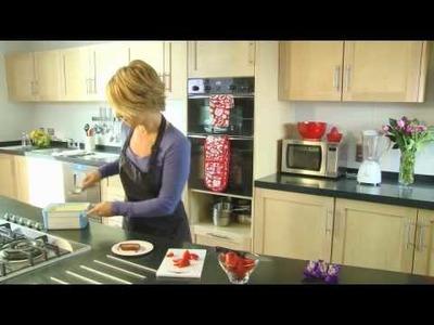 Cadbury Mini Rolls with Strawberries Recipe - Great Little Ideas