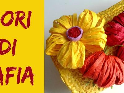 Come fare Fiori di Rafia. How to make Raffia Flowers (Riciclo.D.I.Y.) Arte per Te
