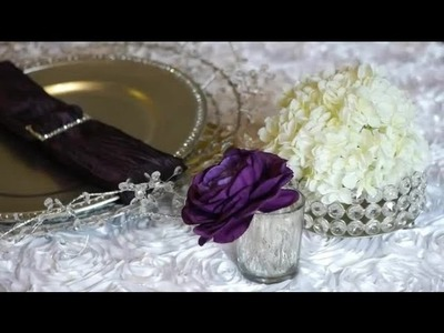 Decorations for White Linen Parties : Party Ideas